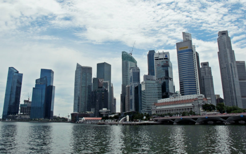 Singapore exports rose by 8.5 per cent in July.