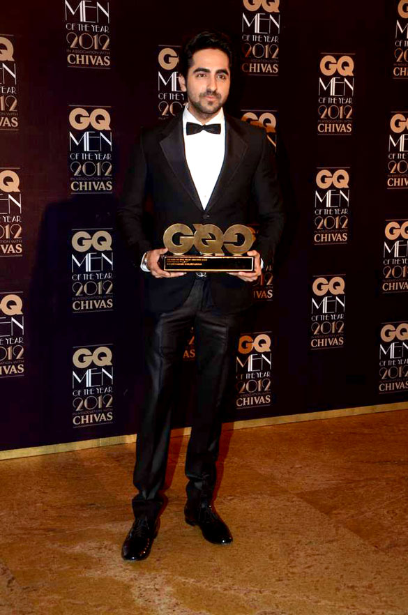 Ayushamann Khurrana at GQ Men Of The Year 2012