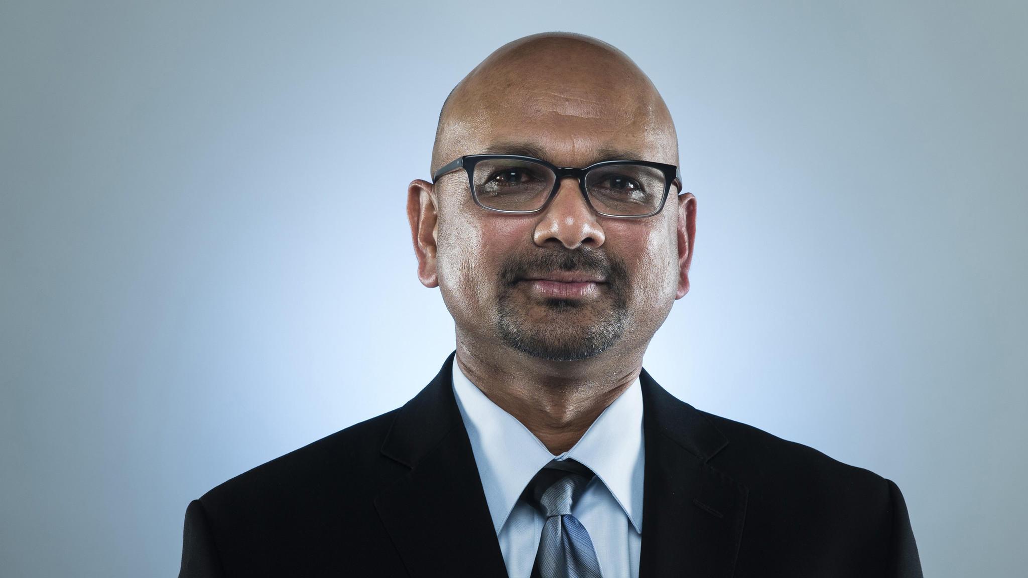 Indian-American editor Davan Maharaj