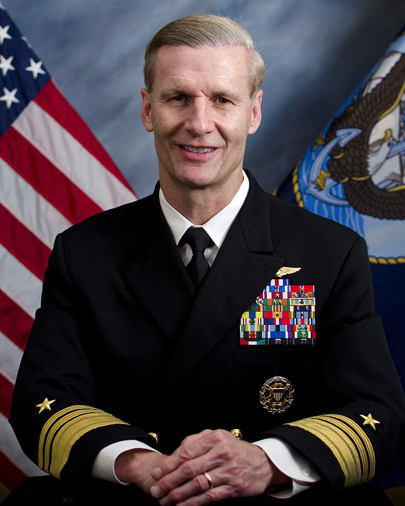 Vice Admiral Joseph Aucoin