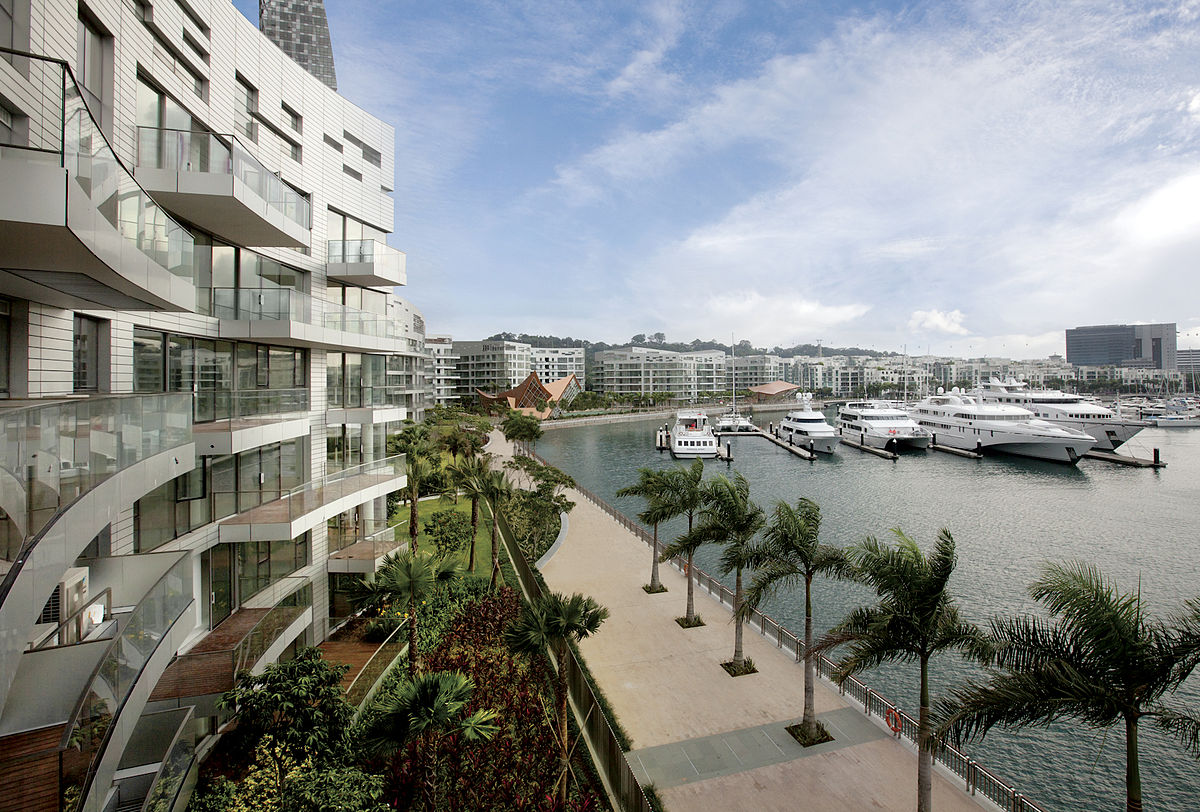 Properties in Sentosa Cove.