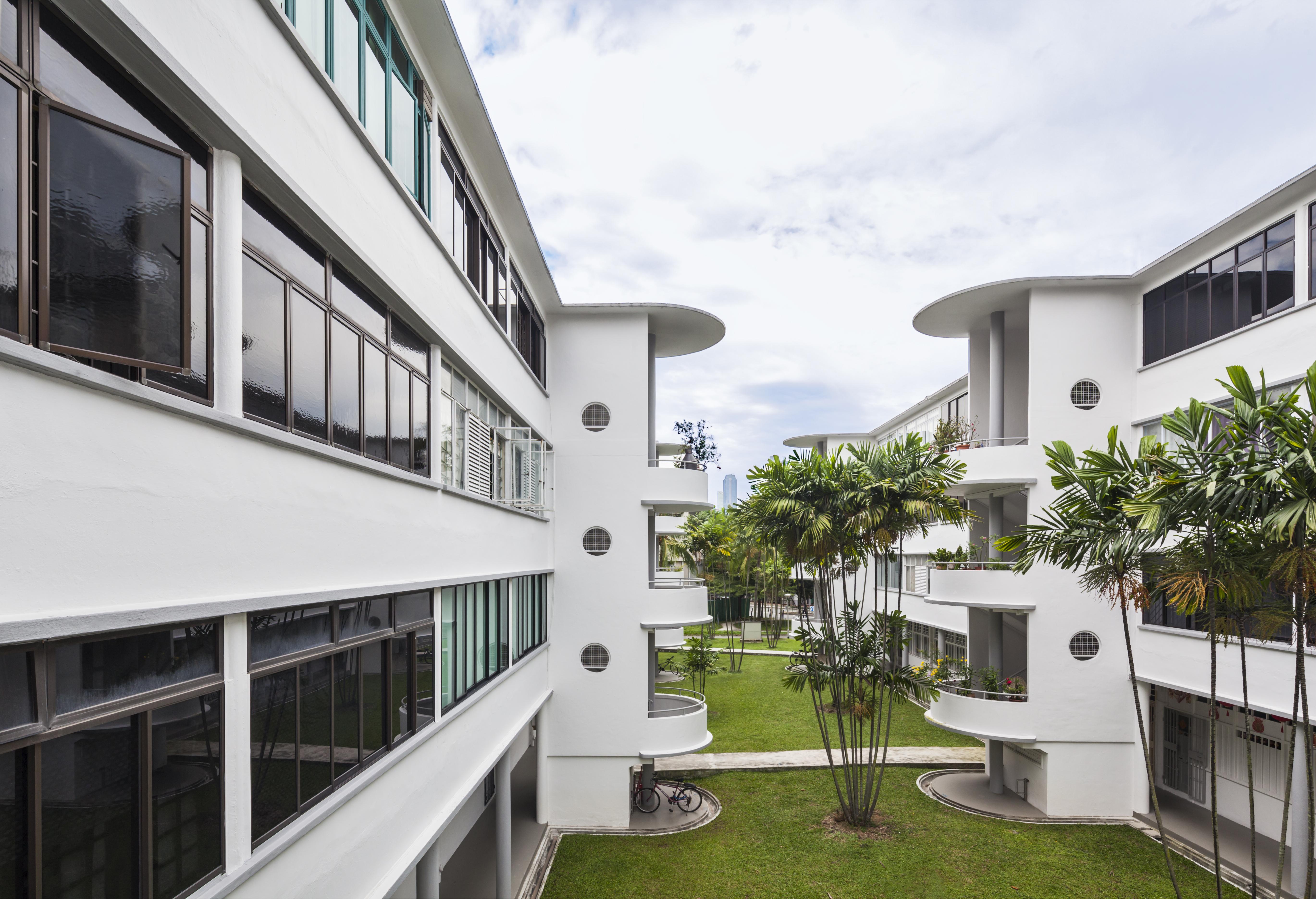 Tiong Bahru - HDB estates.