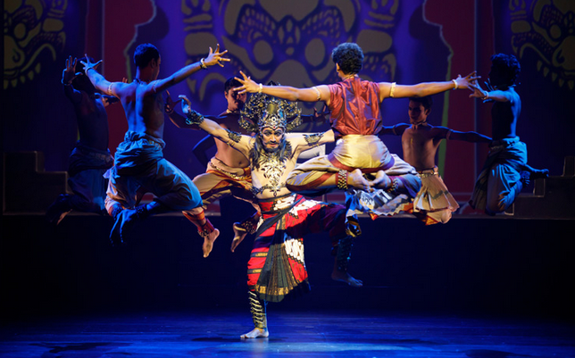 Anjaneyam – Hanuman's Ramayana. Photo courtesy: Esplanade – Theatres on the Bay