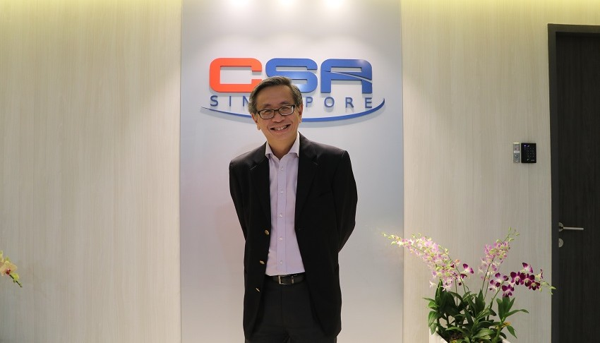 David Koh, Chief Executive of CSA.