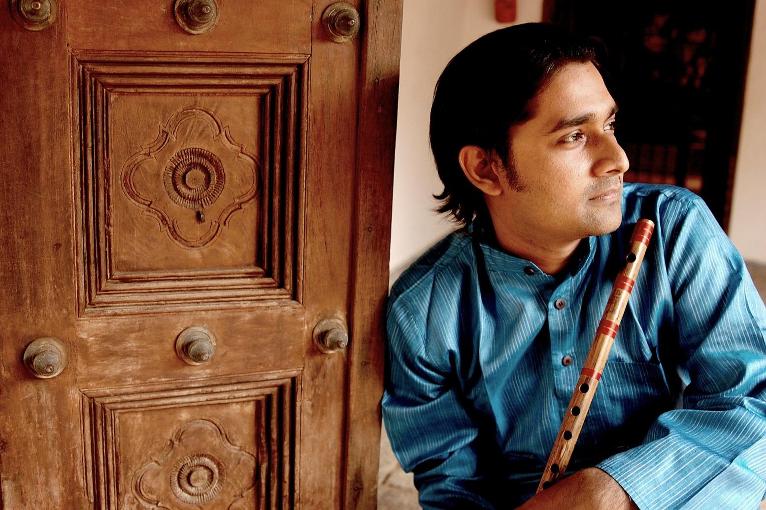 Flute player B Vijayagopal.