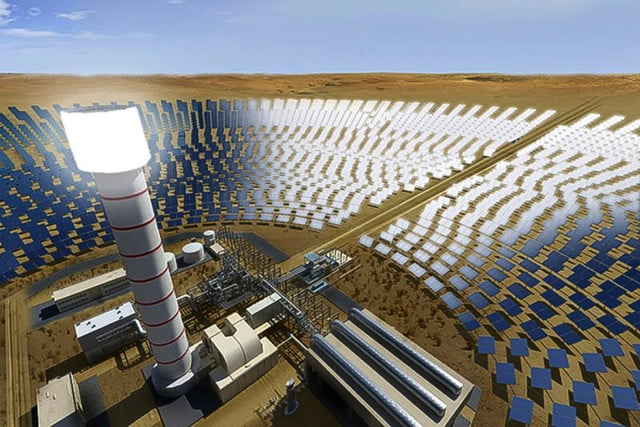 Dubai will have the largest solar park in the world coupled with the tallest solar tower.