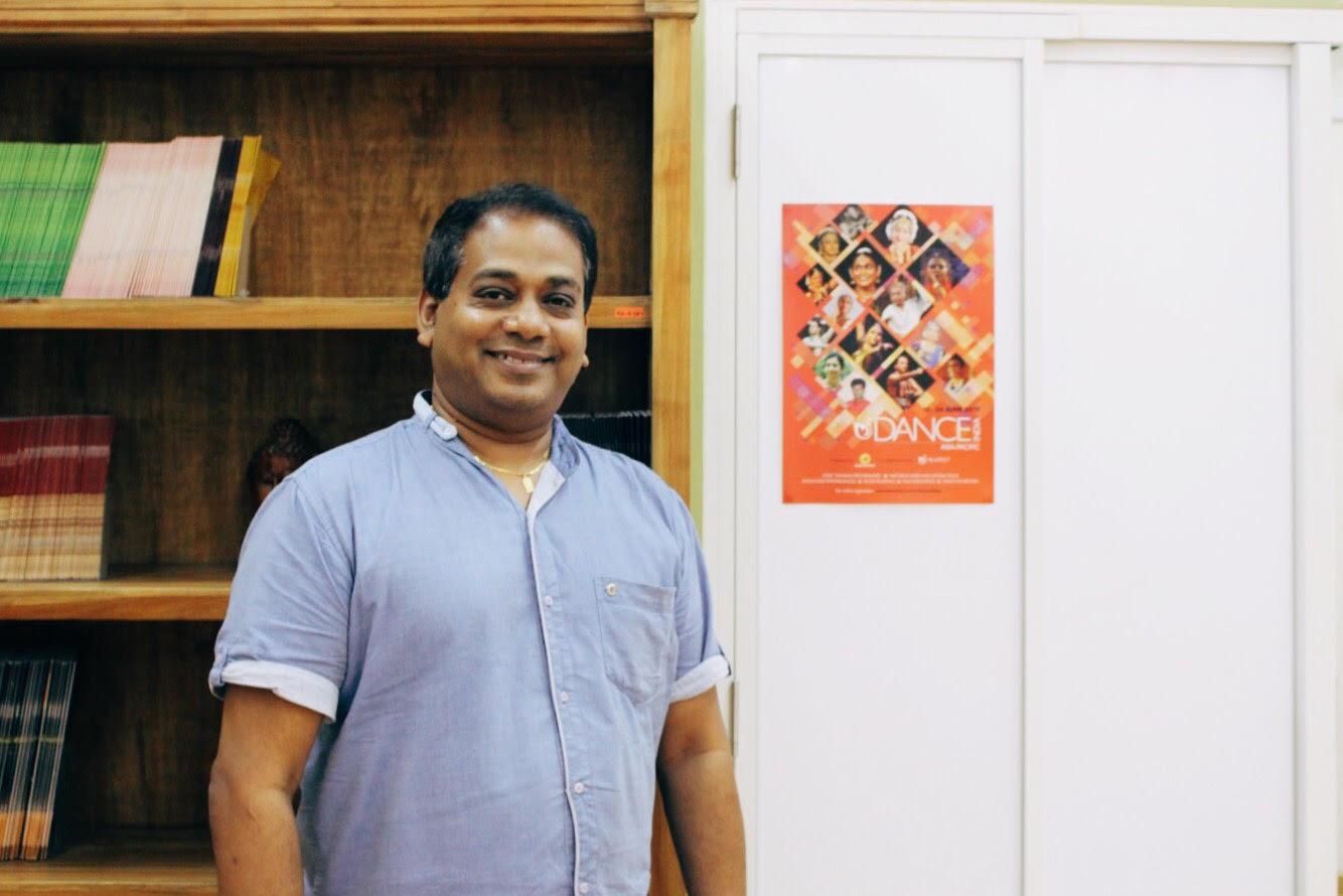 Aravinth Kumarasamy, director of Anjaneyam – Hanuman's Ramayana.