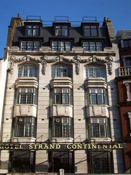 The Strand Continental hotel, where the India Club is located. Photo courtesy: Strand Continental