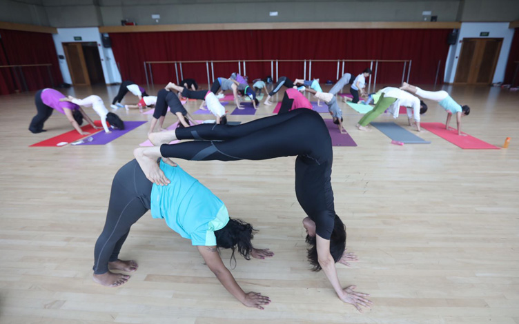 Parent Child – Basic Yoga Workshop