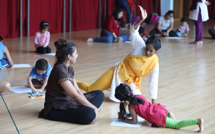 Parent Child Workshop – Basic Indian Dance