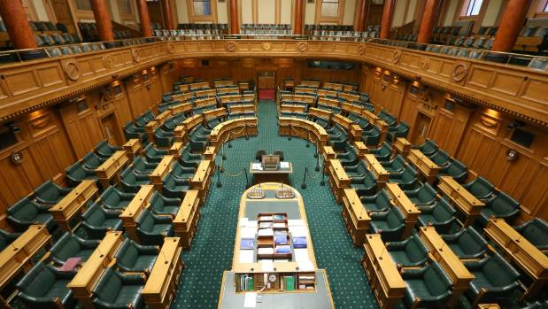 The Parliament House in New Zealand.