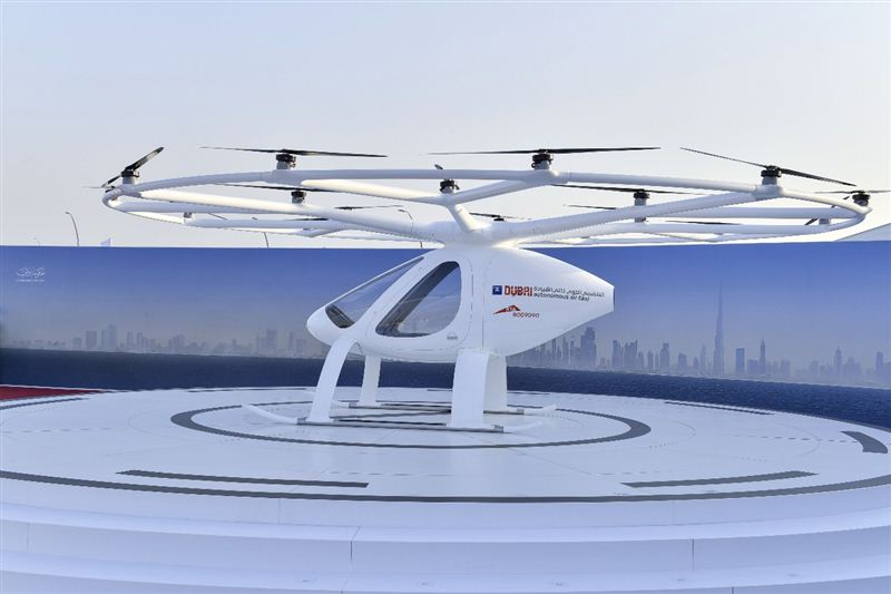 first Autonomous Air Taxi (AAT), dubai