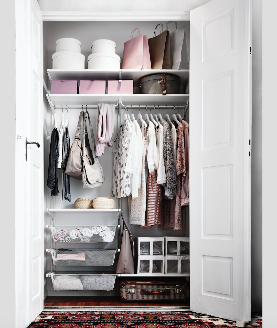 Clothes storage systems