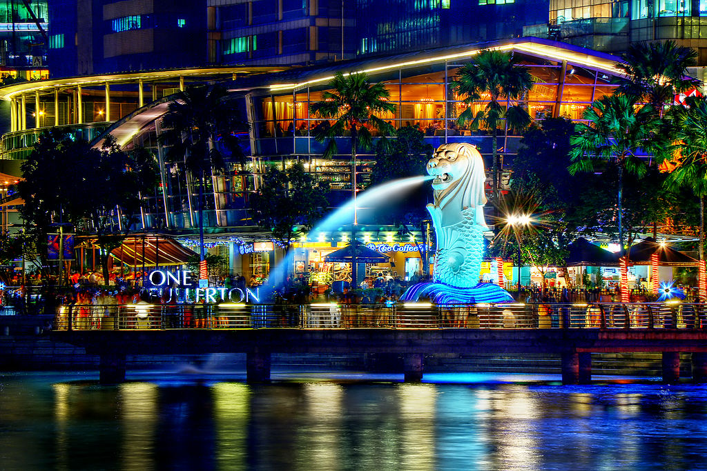 A symbol of Singapore, the Merlion was created in 1964