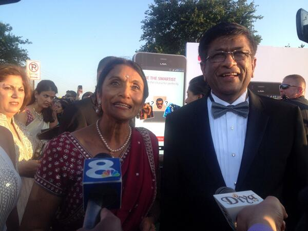 Cardiologist Kiran C Patel and his wife, Pediatrician Pallavi Patel