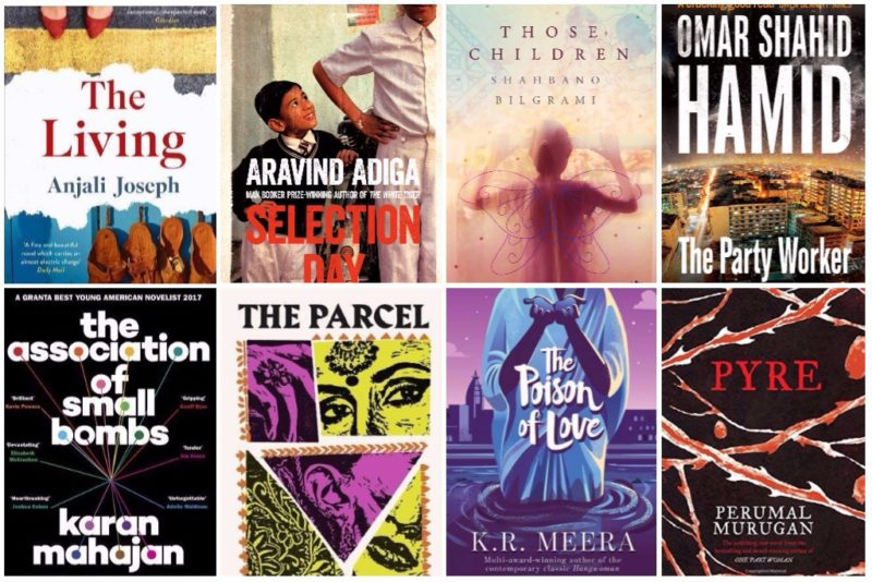 Some of the books on the DSC Prize longlist.
