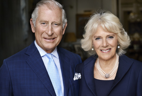 Britain's Prince Charles along with his wife Camilla, the Duchess of Cornwall.