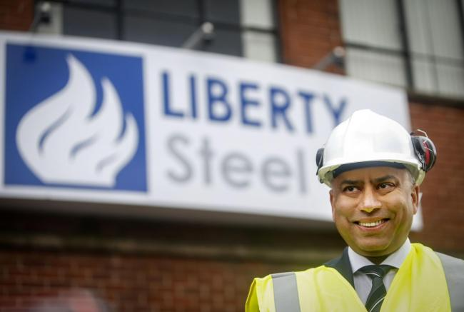 Liberty Group chairman Sanjeev Gupta.