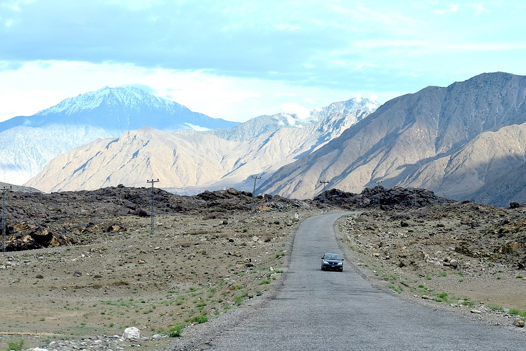 Karakoram Highway, an important part of the CPEC.