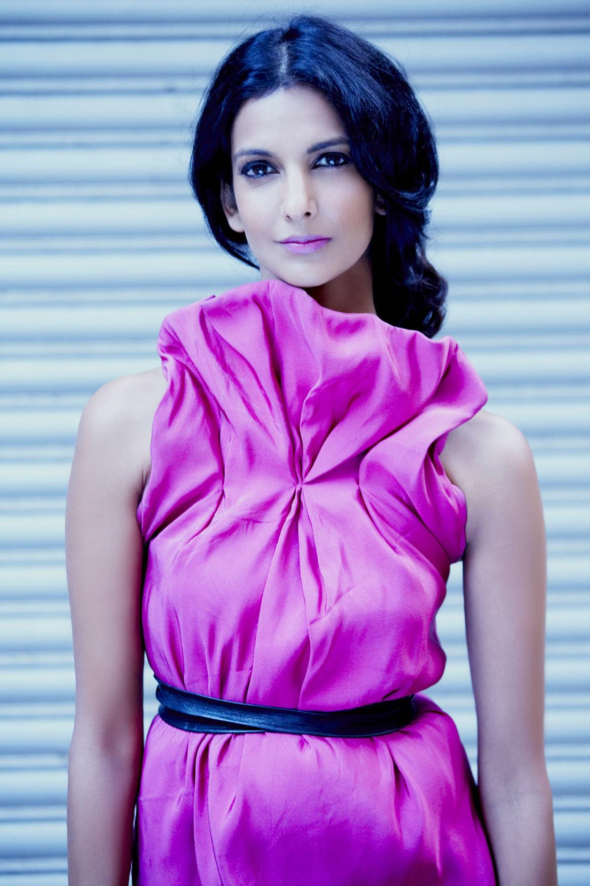 Indian-American actress Poorna Jagannathan.