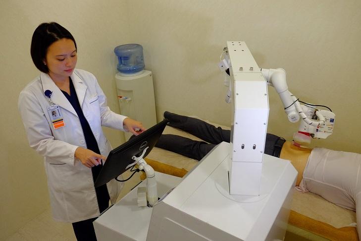 Robot masseuse