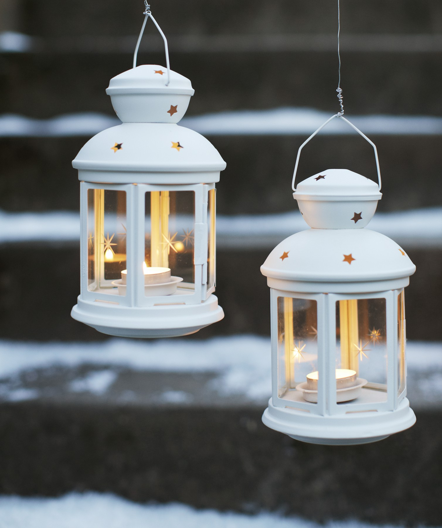 Tealight lanterns IKEA
