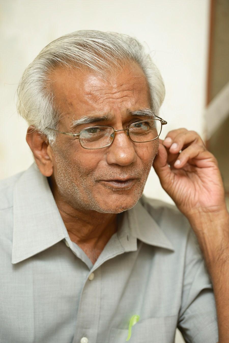 Indian filmmaker Kundan Shah