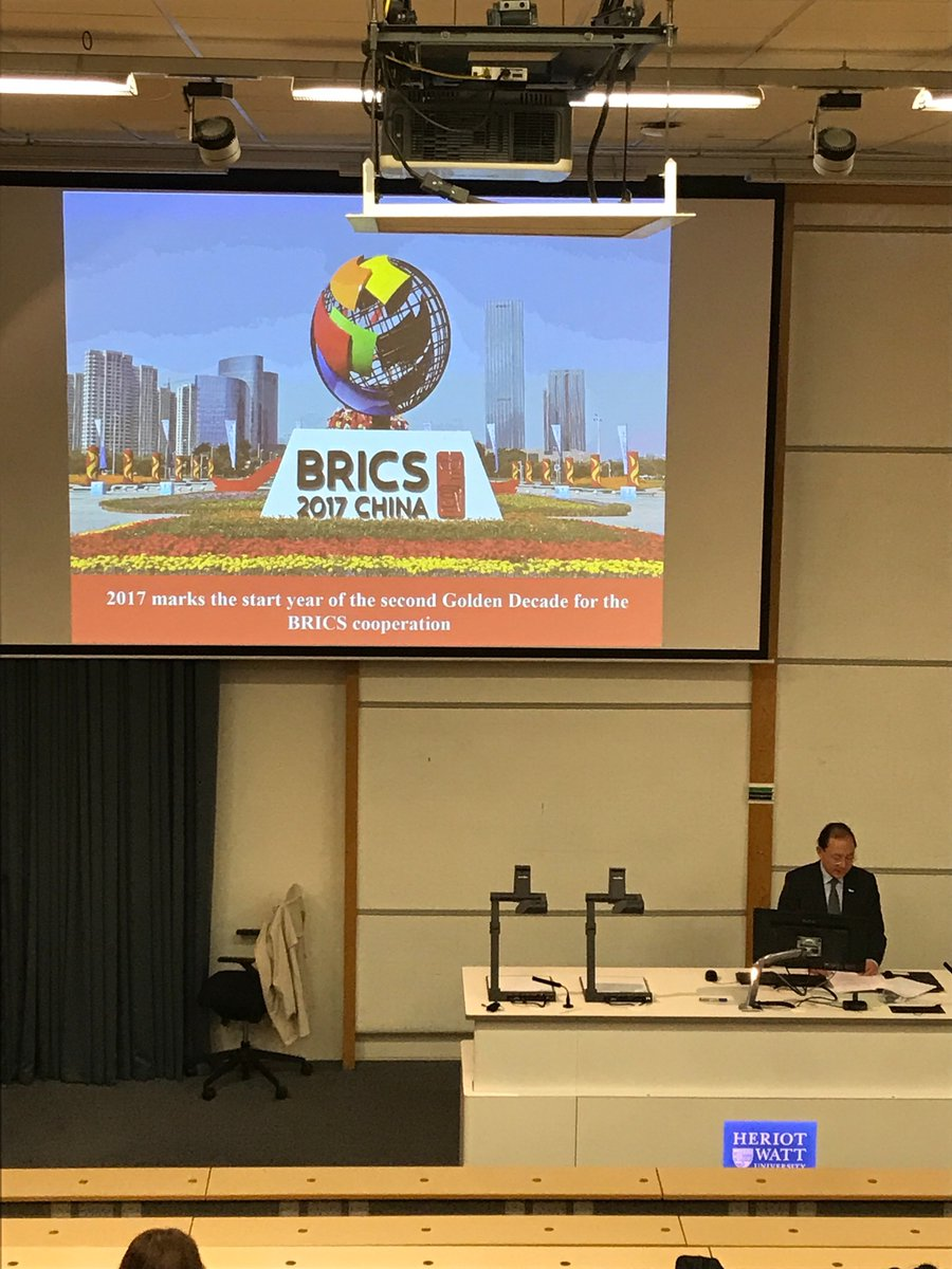 2017 marks the golden decade for BRICS cooperation.