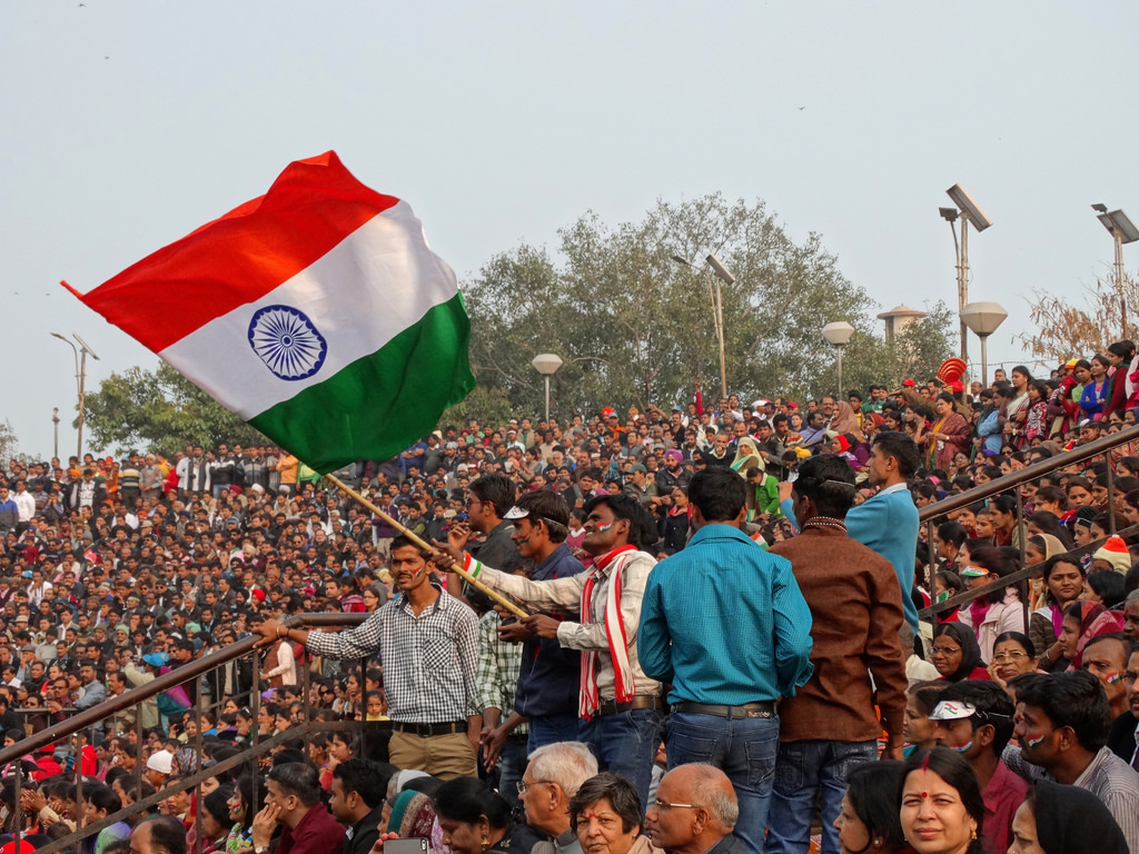 Indian crowd