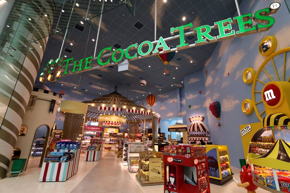 There are many interesting retail concepts that await travellers at T4 of Changi Airport.