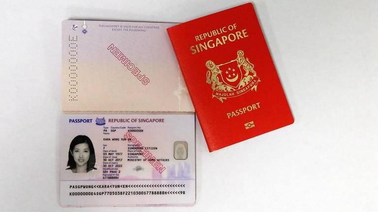 Singapore New Passport