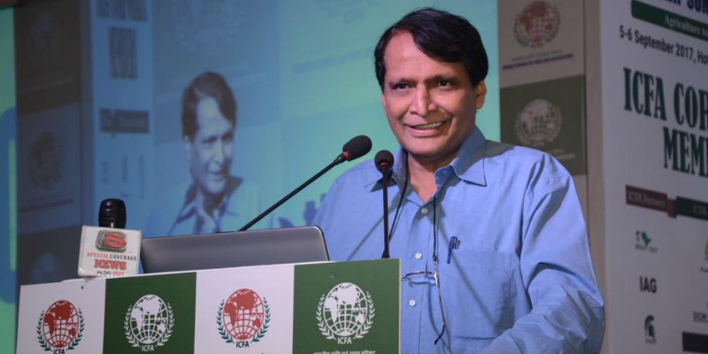 Indian Union Minister Suresh Prabhu