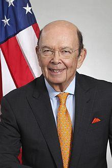 United States Secretary of Commerce Wilbur Ross.