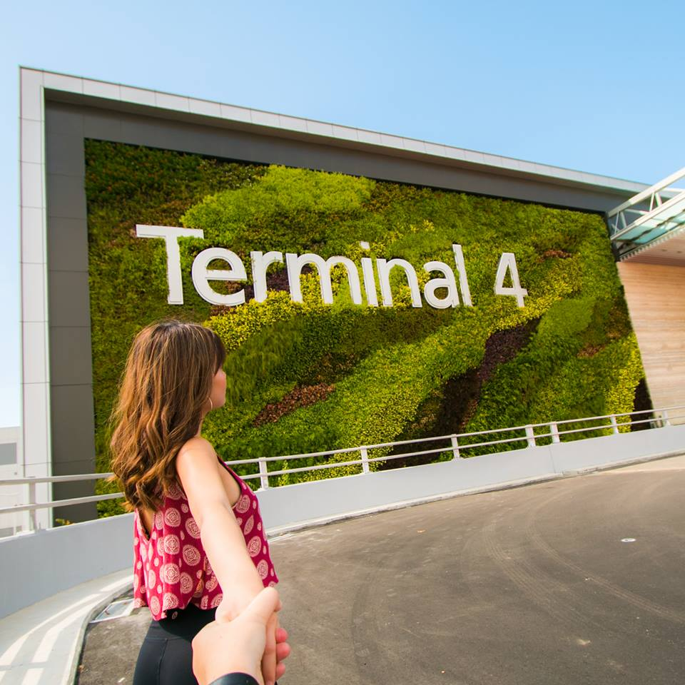 Passengers were welcomed at the new Terminal 4 of Changi Airport. Photo courtesy: CAG