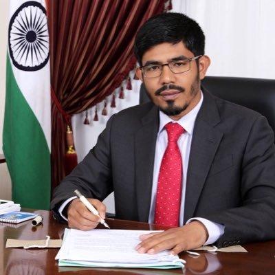 India's Consul General Mohammad Noor Rahman Sheikh.