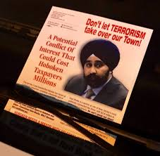 US Sikh politician Ravinder Bhalla labelled 'terrorist'