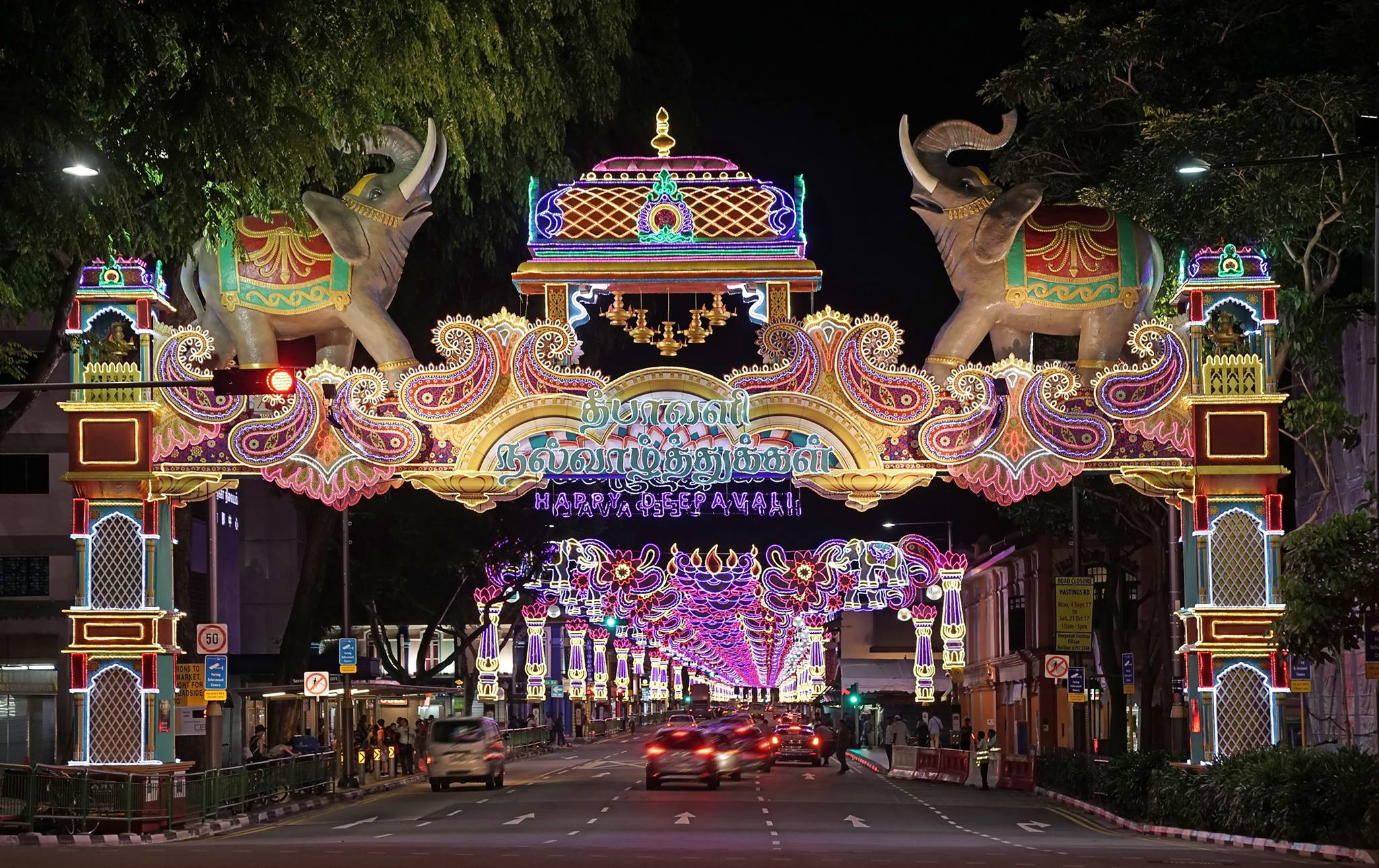 Deepavali is an important festival in Singapore's celebratory calendar. Photo courtesy: LISHA