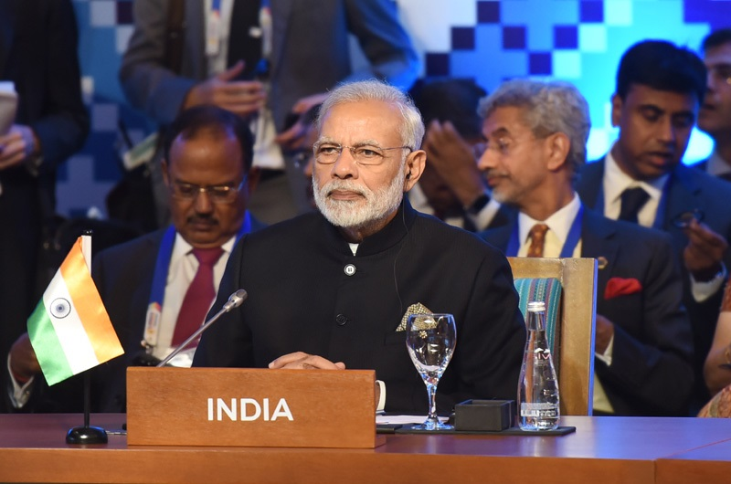 Prime Minister, Shri Narendra Modi at the 12th East Asia Summit, in Manila, Philippines on November 14, 2017 Photo courtesy: http://www.pmindia.gov.in/en/