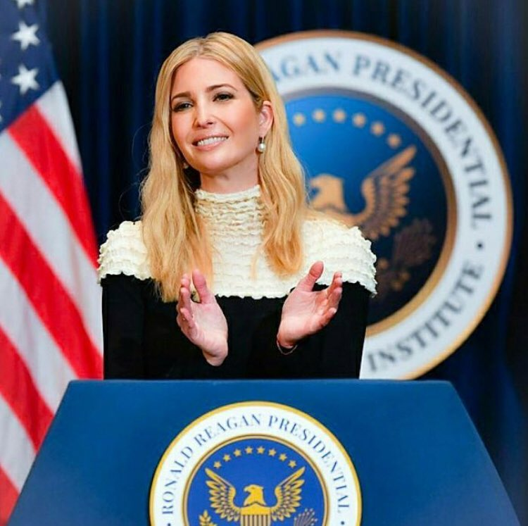 Ivanka Trump - advisor to the US President Donald Trump.