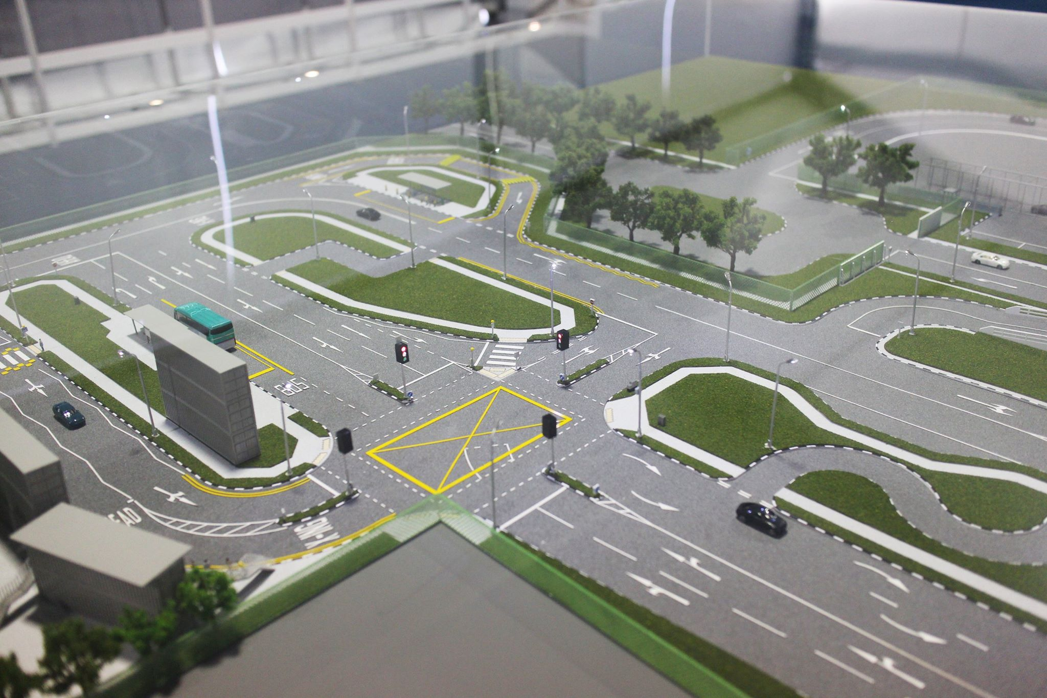 The new 2-hectare test centre CETRAN will spearhead research for the safe deployment of driverless vehicles  on Singapore roads.