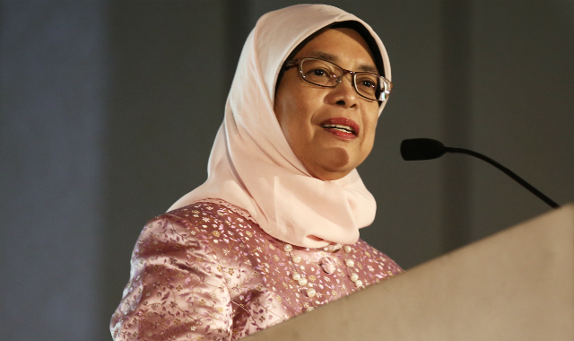 President of Singapore Halimah Yacob.