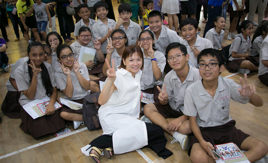 About 98.4 per cent of students have qualified for secondary school in Singapore.