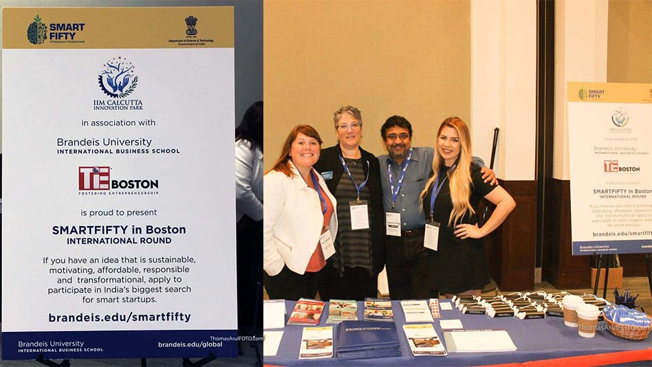 Launch of Smart Fifty at Boston, USA in association with Brandeis University. Presented by TiE Boston.