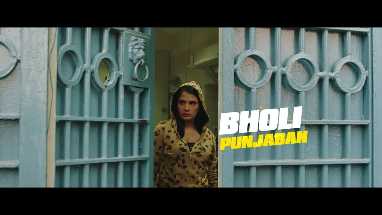 Bholi on her way out of jail. Watch out, fukras!