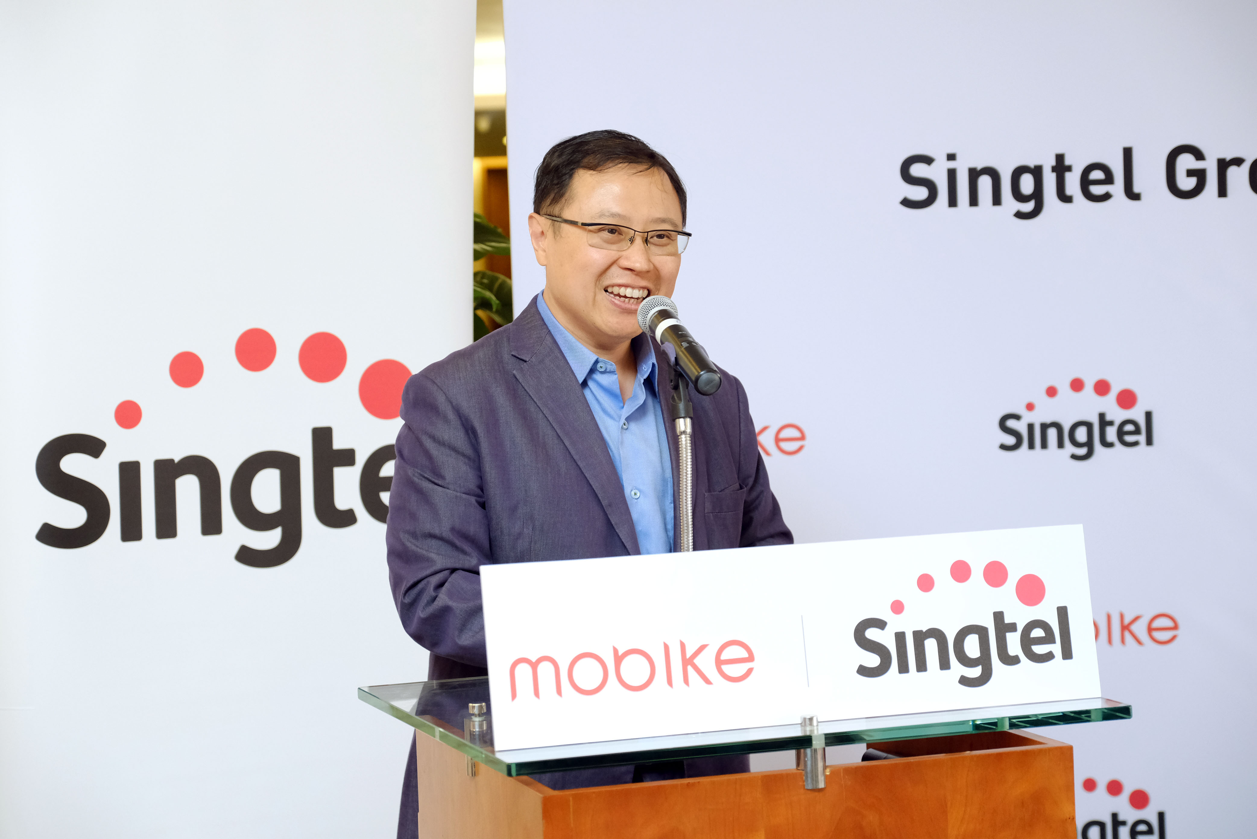 said rapid smartphone growth and the expansion of the sharing economy are transforming customers' lives