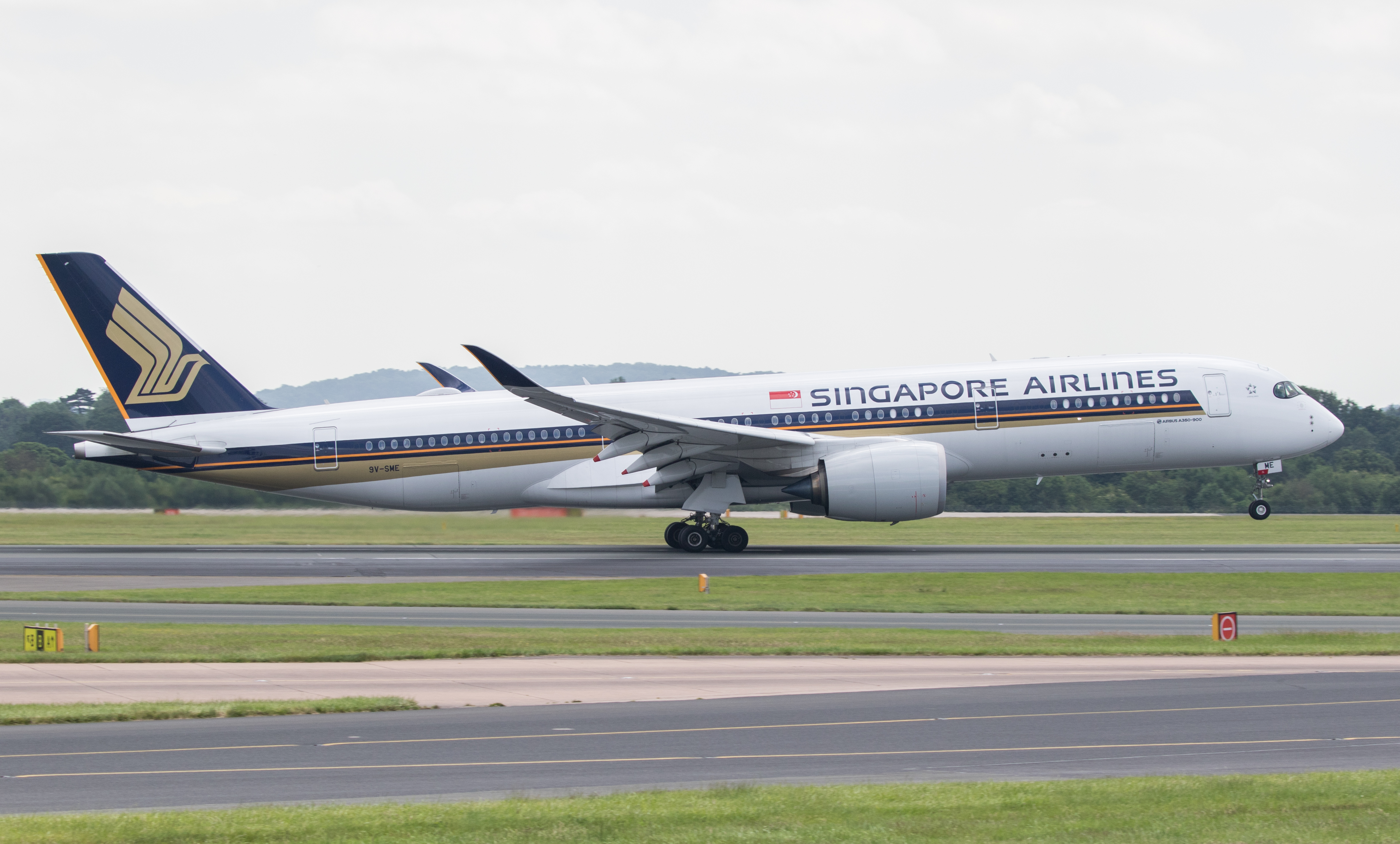 Singapore AIrlines Airbus A350.