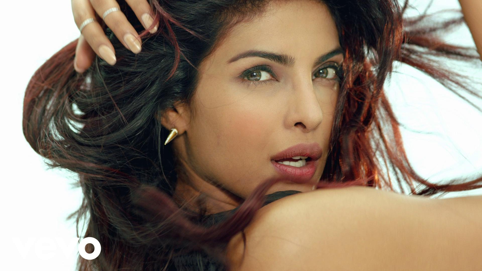 Indian actress Priyanka Chopra.