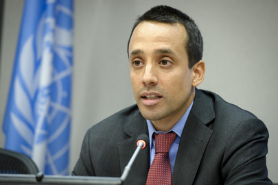 Economic Affairs Officer at the United Nations Sebastian Vergara