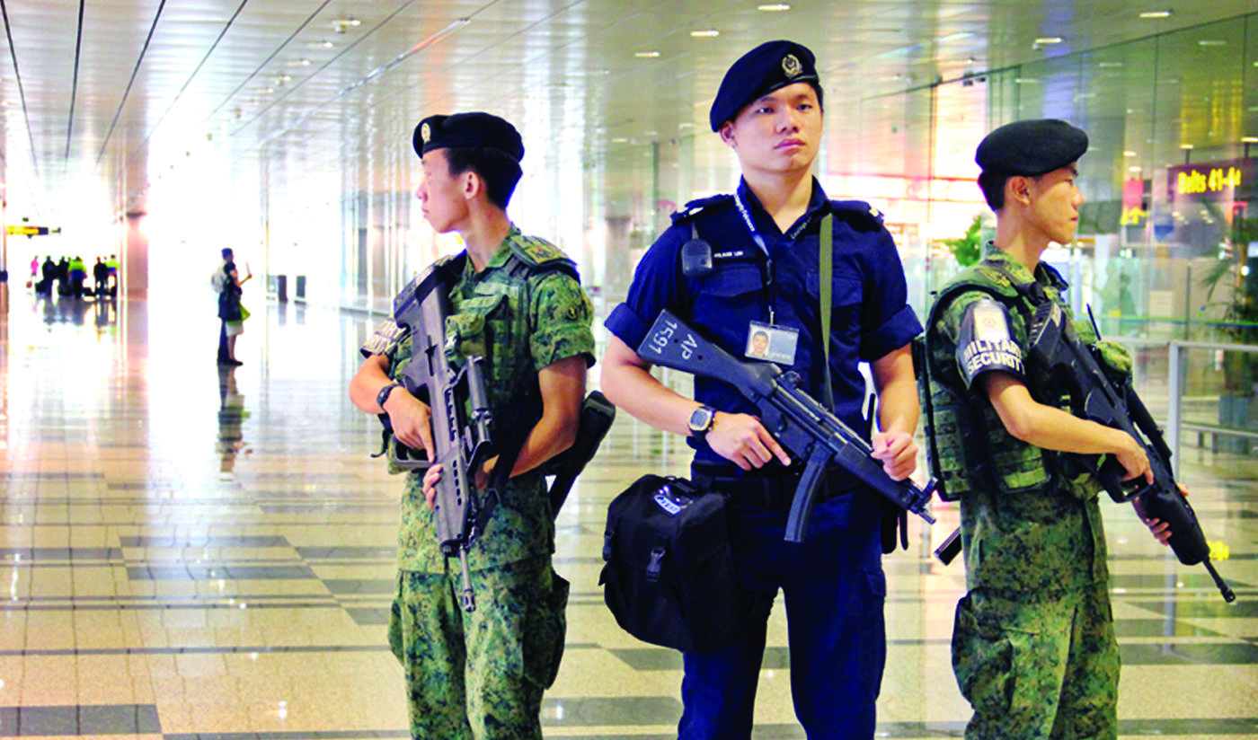 Officers from Singapore Police, Protective Security Command, Emergency Response Teams and the Special Operations Command will be patrolling during the Christmas period.