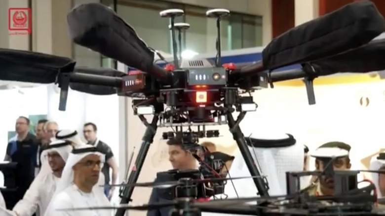 Dubai has started deploying drones to monitor traffic on its roads.